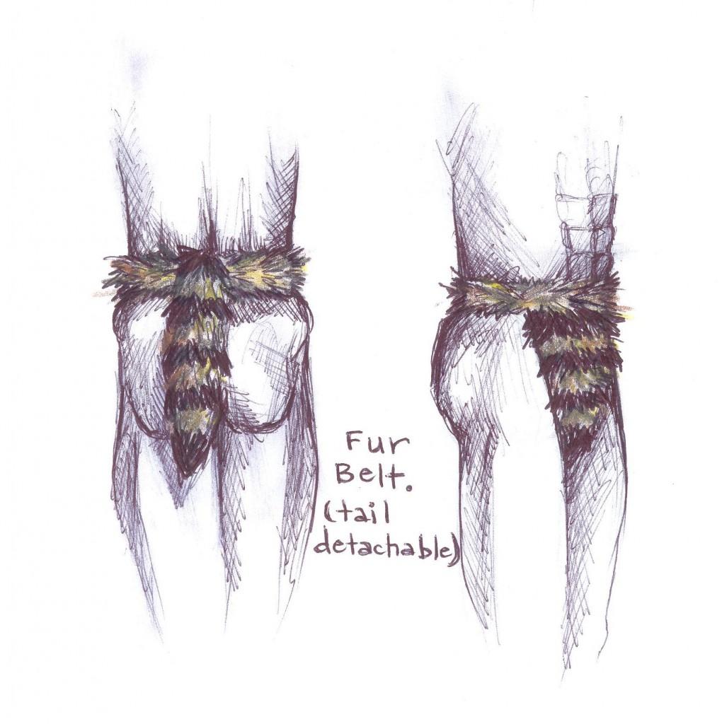 dance belts fur