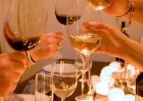 A Toast over the dinner table