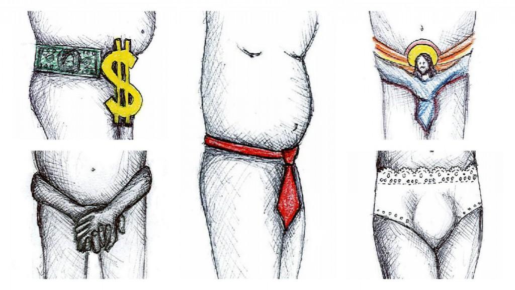 belt collage