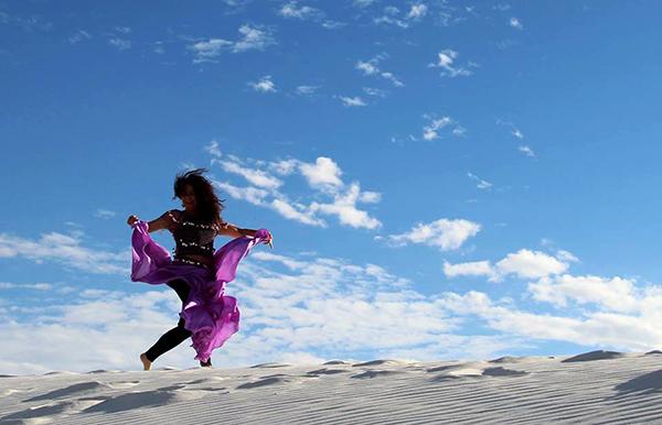 Deborah Newberg white sands