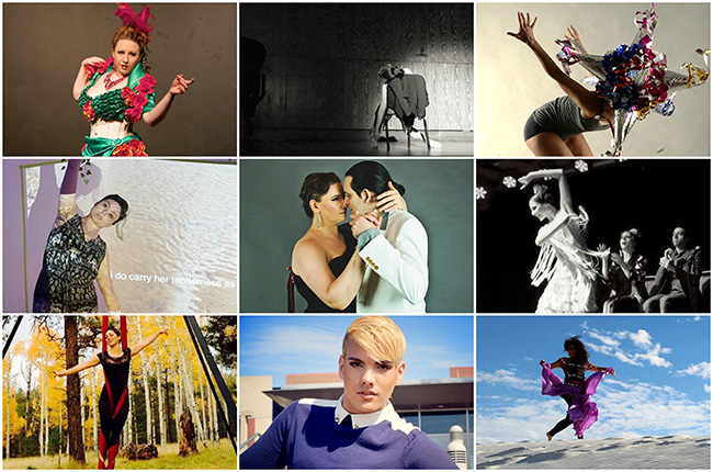 Prof dance collage