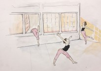 Gwyn Henry - Exploring Empty Dance Studio - FOR SOD