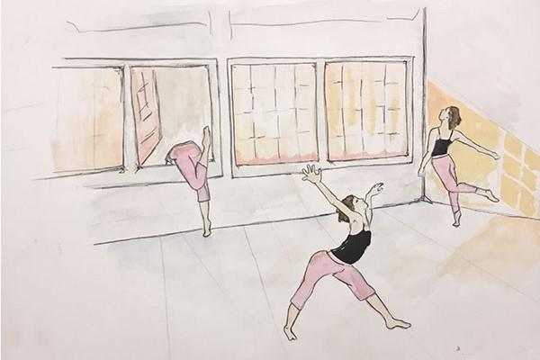 Gwyn Henry - Exploring Empty Dance Studio - FOR SOD
