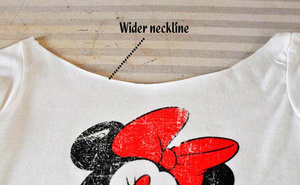 Bunion - Cut out neck t-shirt