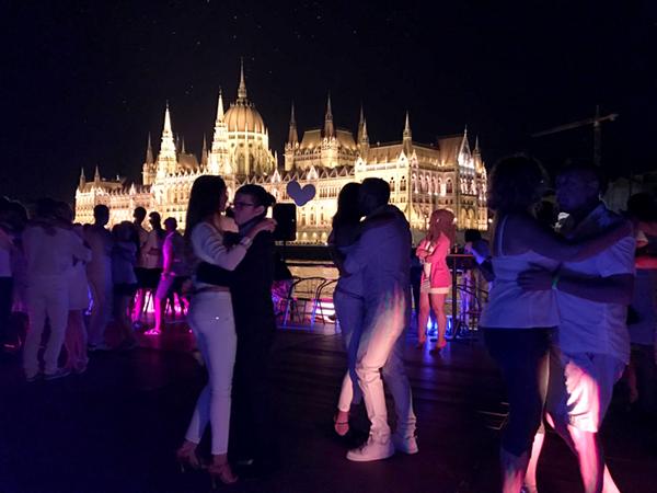 Modern Moves Budapest kizomba connection, August 2017