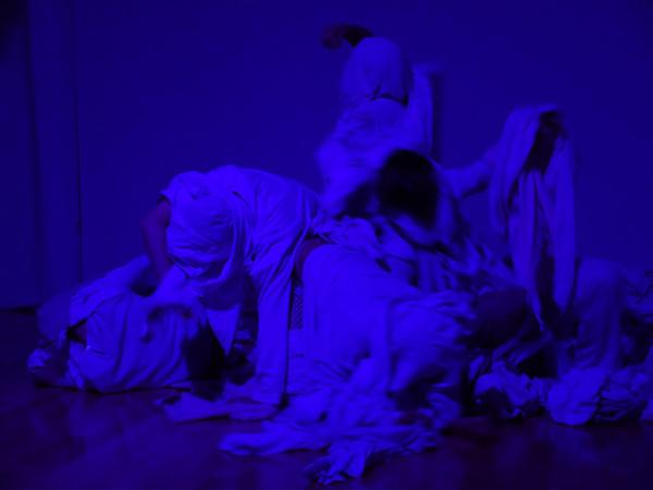 Olive Bieringa 3 - felt room, Boris Oicherman, Weisman Art Museum, 2018
