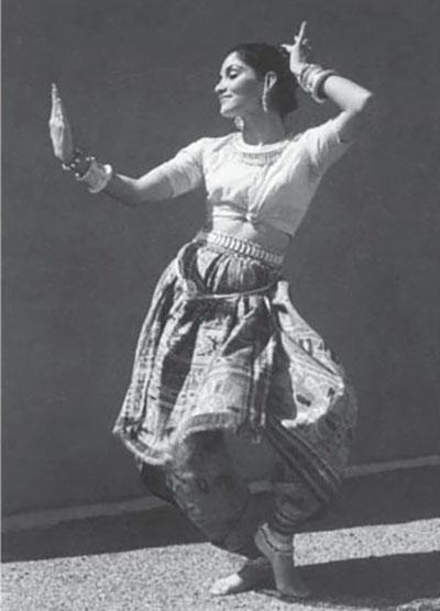 Indrani Odissi costume