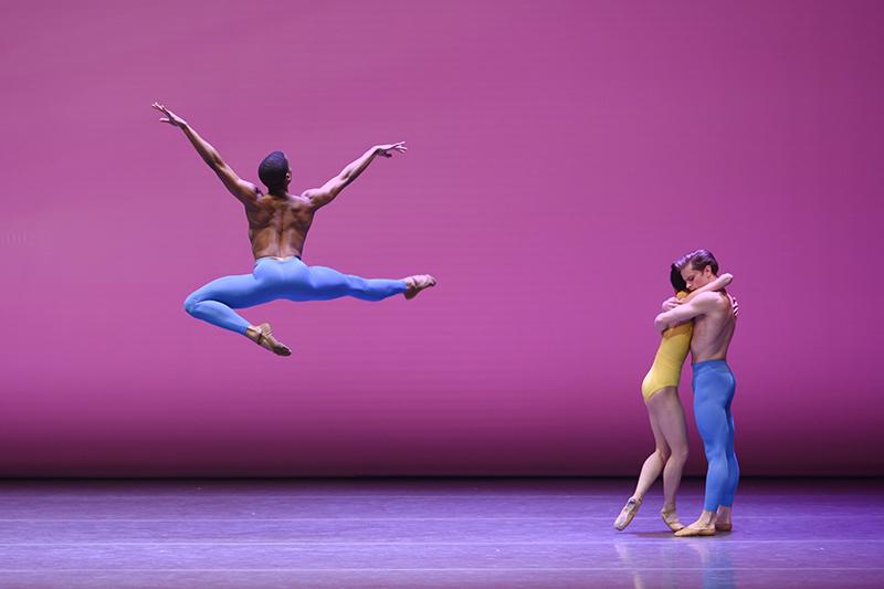 Helen Pickett's Petal during Boston Ballet's BB@Home: ChoreograpHER