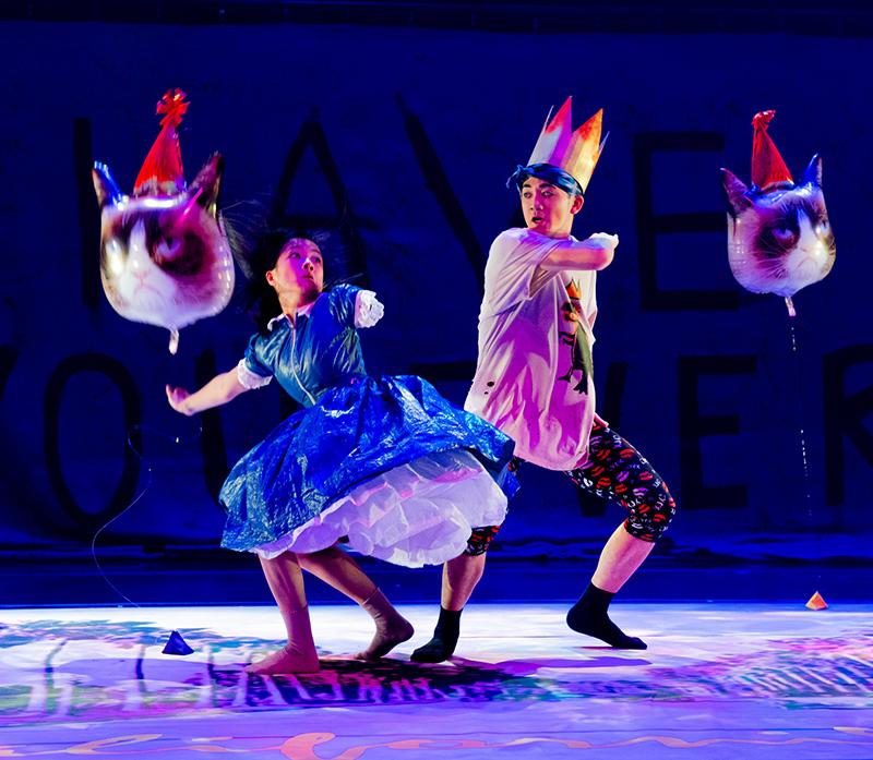Bradford Chin in Alice in Wonderland