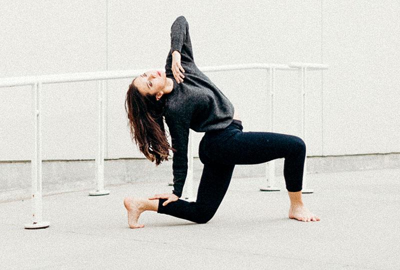 Jacque Pritz dancing