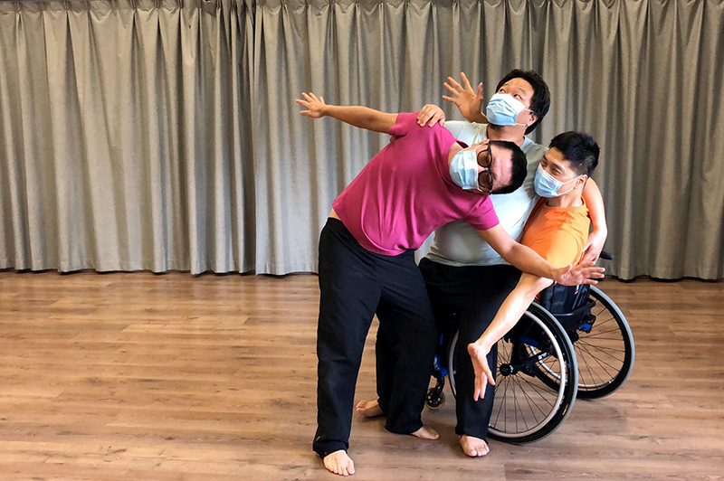 Footage contributed for World Dance Day 2020 in Hong Kong