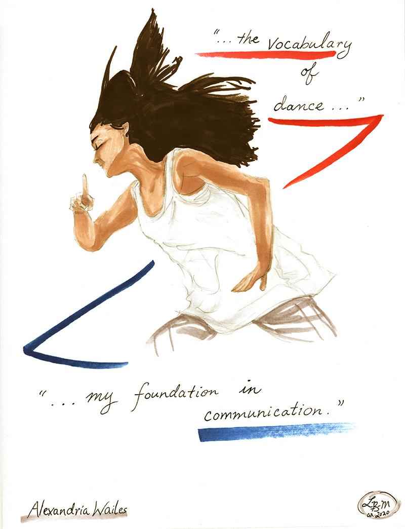 Alexandria Wailes illustration