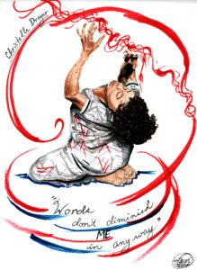 Illustration of Christelle Dreyer