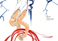 Illustration of Kris Lenzo