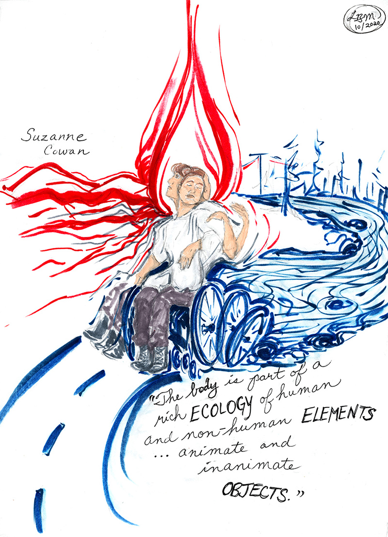 Illustration of Suzanne Cowan