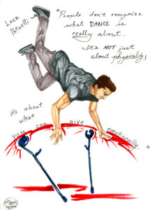 Illustration of Lucy Patuelli