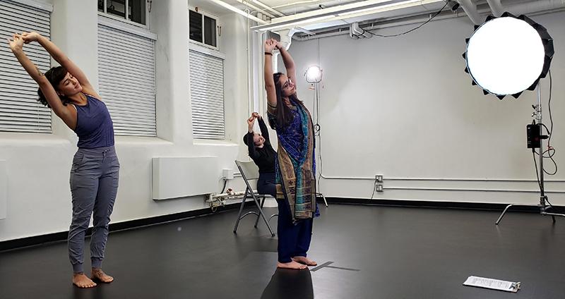 Bhangra class for Blissful dance