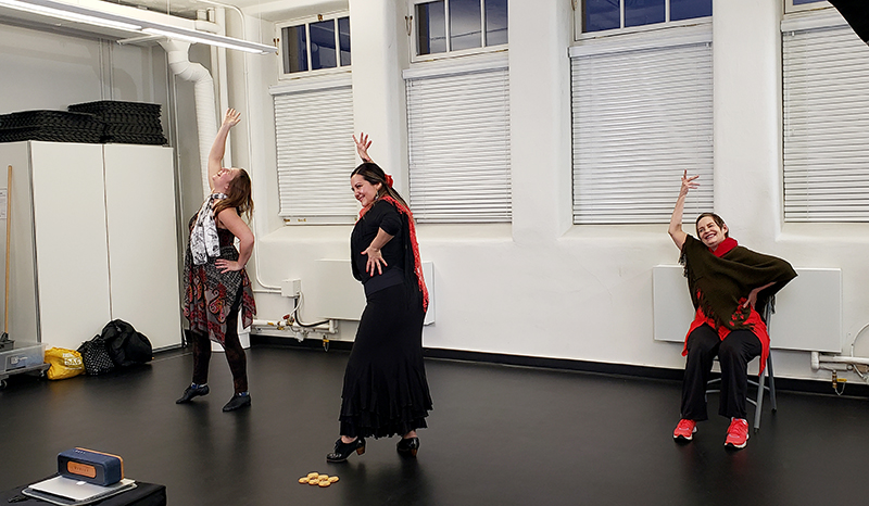 flamenco class for Blissful dance