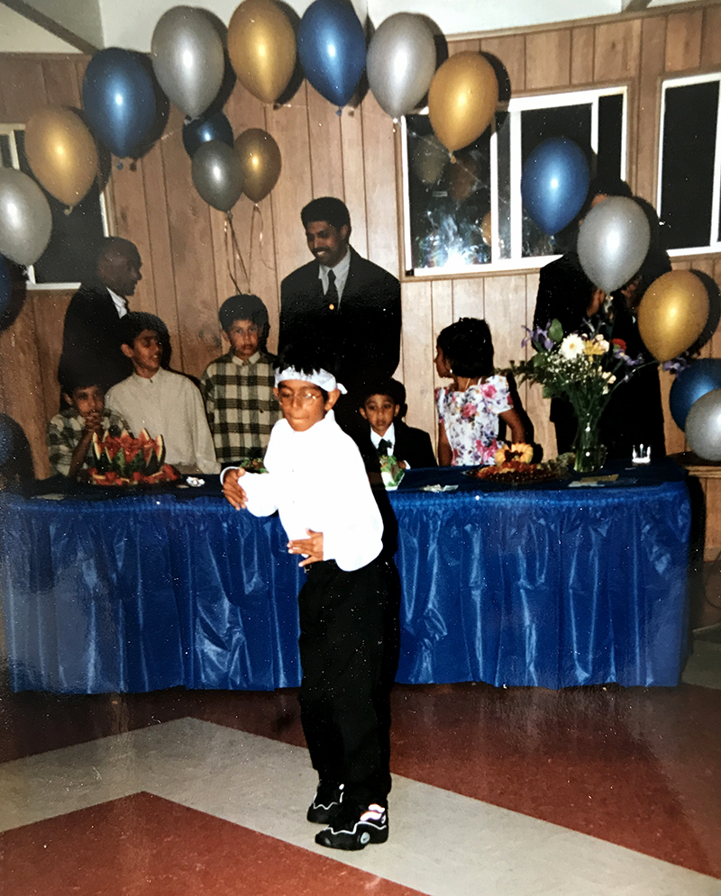 SNJV performing as a child